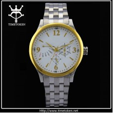 Men's Steel Band Quartz Watch